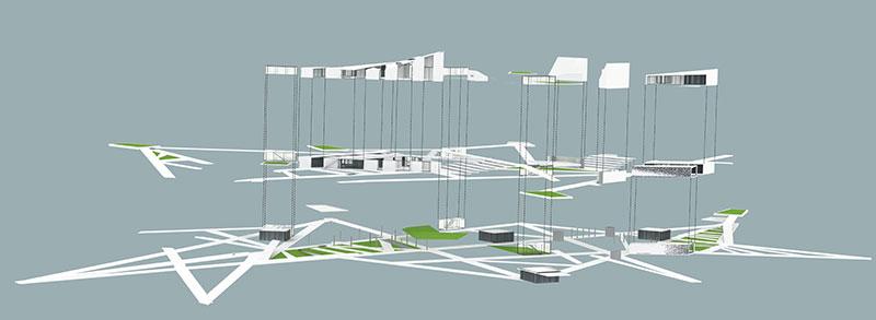 Взрыв схема архитектура