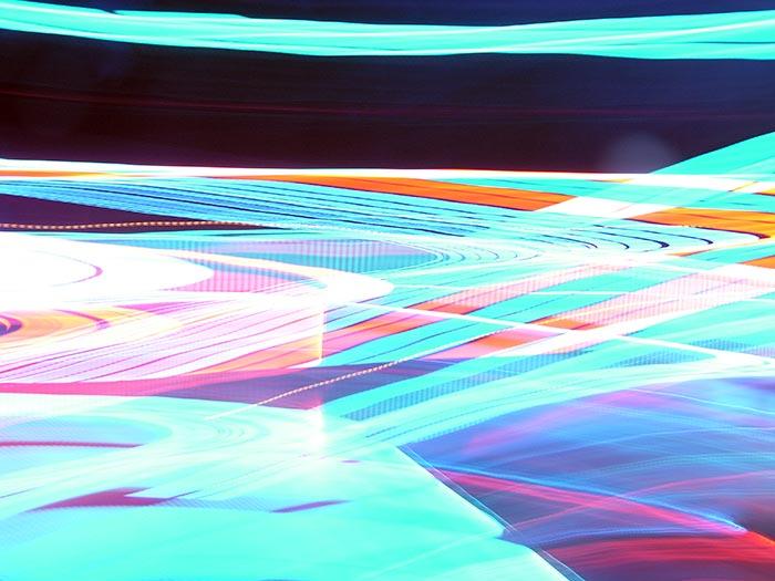 световая абстракция