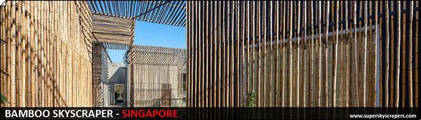 Singapore Bamboo Skyscraper