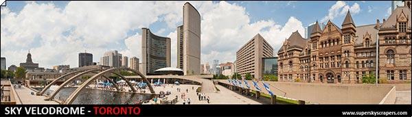 Конкурс: Небоскрёб и небесный велодром, Торонто