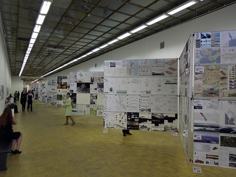 Выставка дипломных проектов Archiprix / Арх Москва 2013