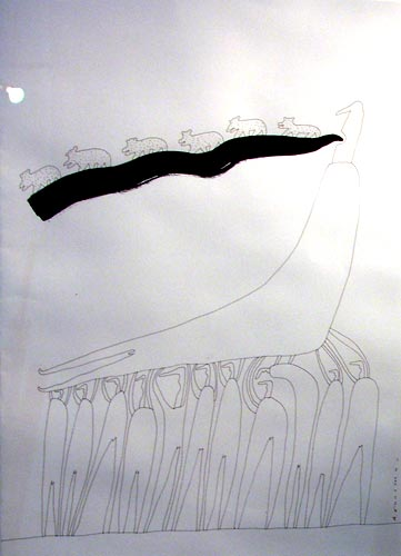 Андей Бильжо, графика