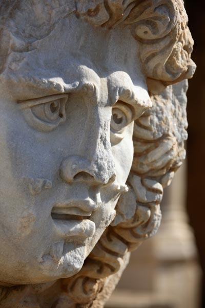 Римские головы рисунок