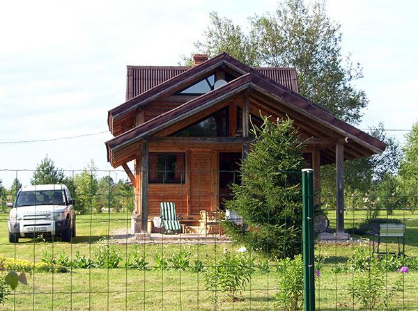 жилые дома в Николо-Ленивце