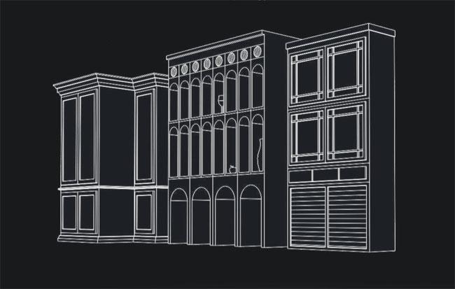 этажерка Венеция — улица