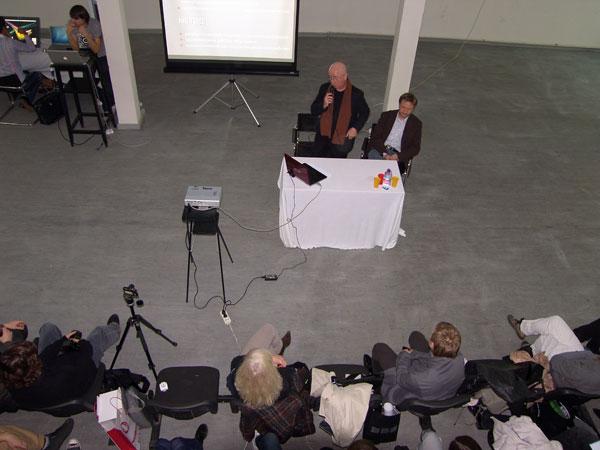 Евгений Асс: начало лекции в МАрхИ