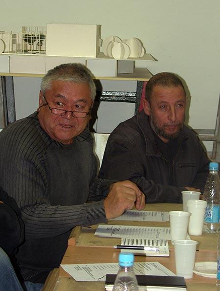 Тотан Кузембаев, Александр Бродский