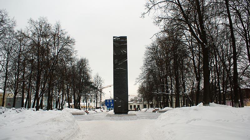Бульвар на улице Чайковского, Ярославль