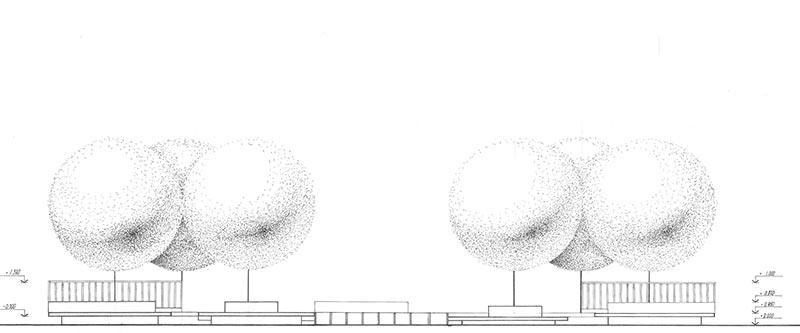 Подиум – трансформер / фасад