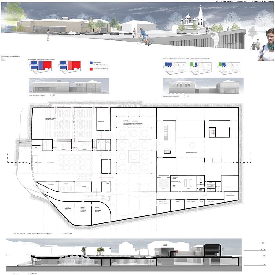 Музейный Кремль / Briegel + Slota Architekten : Daniel Slota, Marcus Briegel / 2