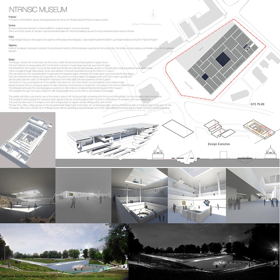 Intrinsic Museum / KETHAM SANTOSH KUMAR AND RUDROJ RAVI KUMAR