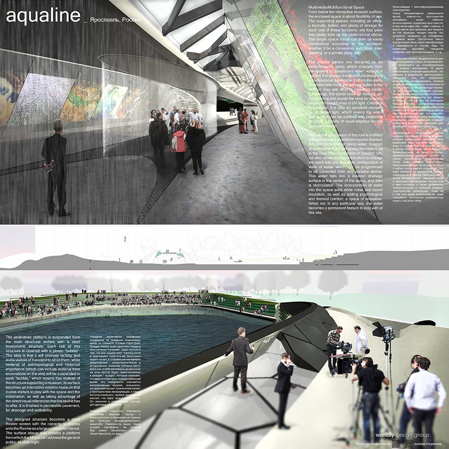 Aqualine / worldly design group : Francis McCloskey­López + Zuzana Chupacova / 3