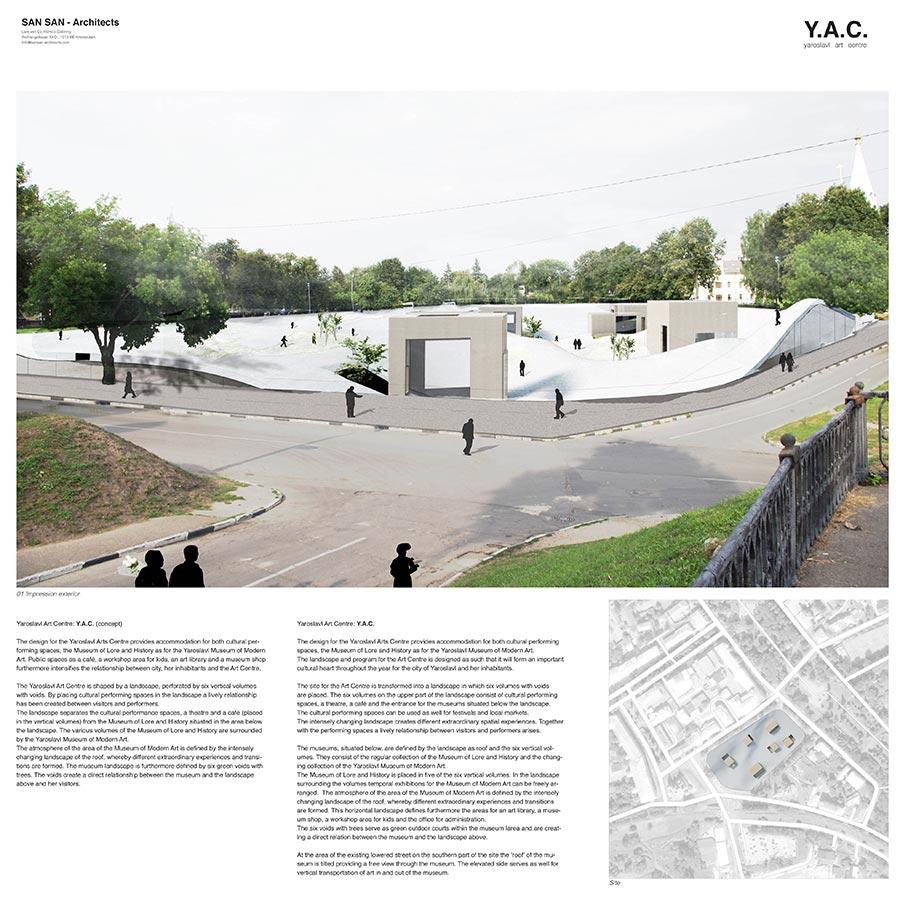 Y.A.C. — Yaroslavl Art Centre / SAN SAN - architects : Lars van Es, Remco Siebring