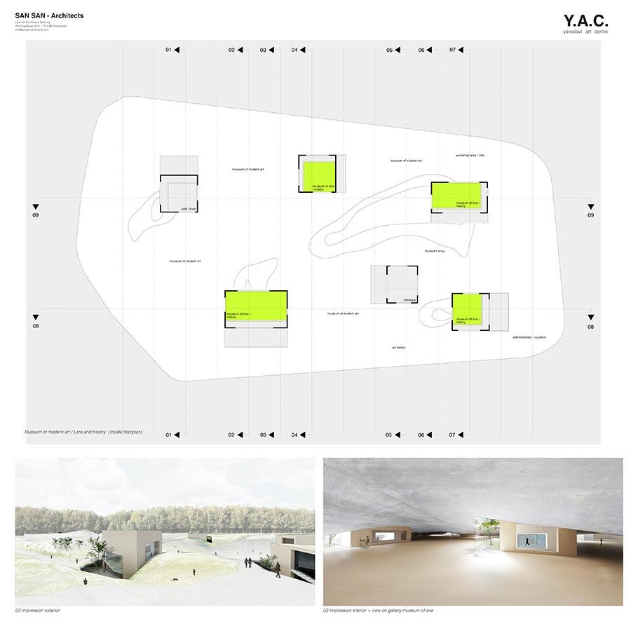 Y.A.C. — Yaroslavl Art Centre / SAN SAN - architects : Lars van Es, Remco Siebring / 2