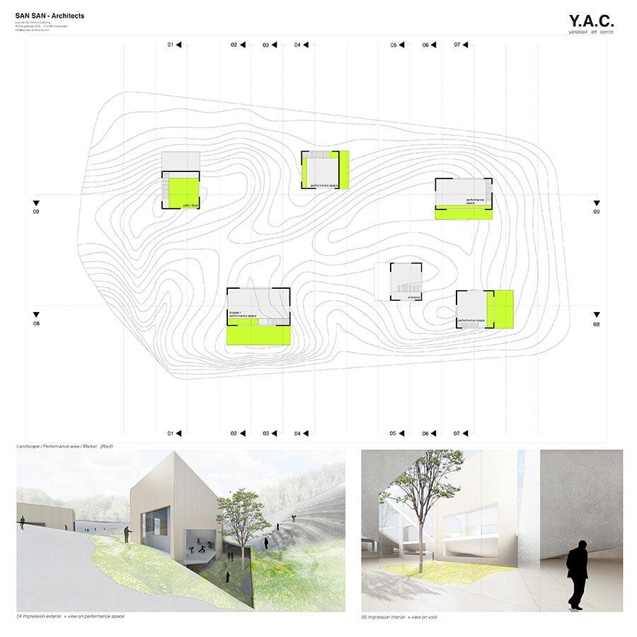 Y.A.C. — Yaroslavl Art Centre / SAN SAN - architects : Lars van Es, Remco Siebring / 3