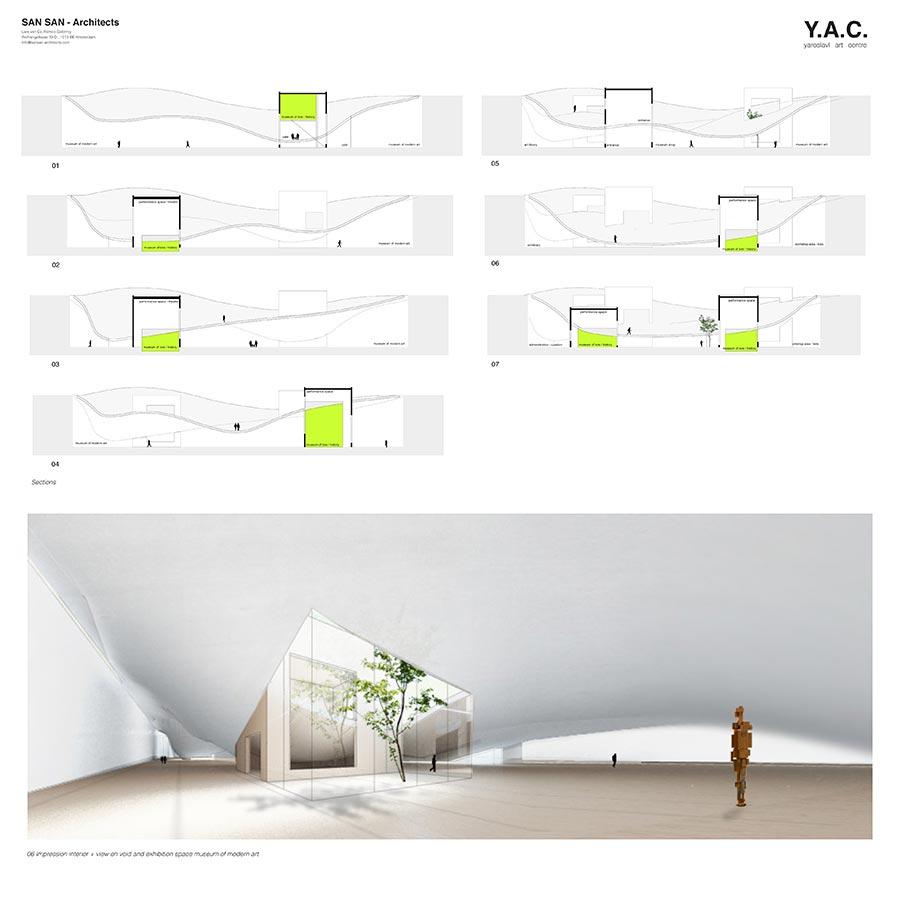 Y.A.C. — Yaroslavl Art Centre / SAN SAN - architects : Lars van Es, Remco Siebring / 4