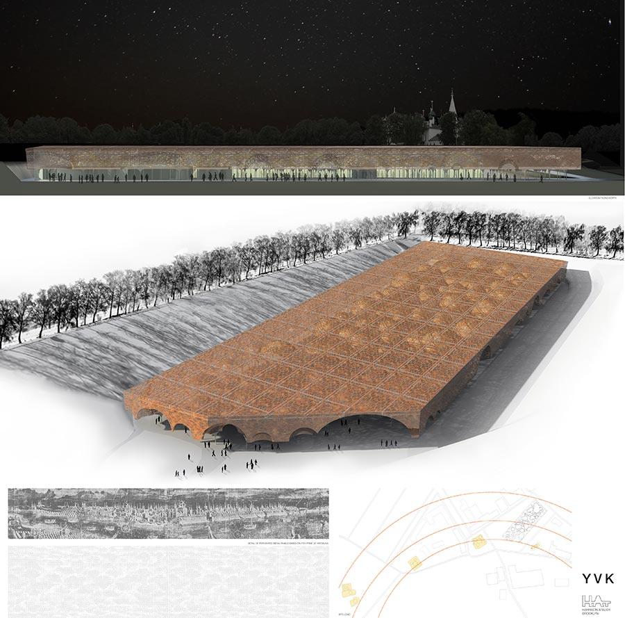YVK (Ярославская космическая Выставка) / Ariane Lourie Harrison, Seth Harrison, Alexander Davis, Stephen Ullman