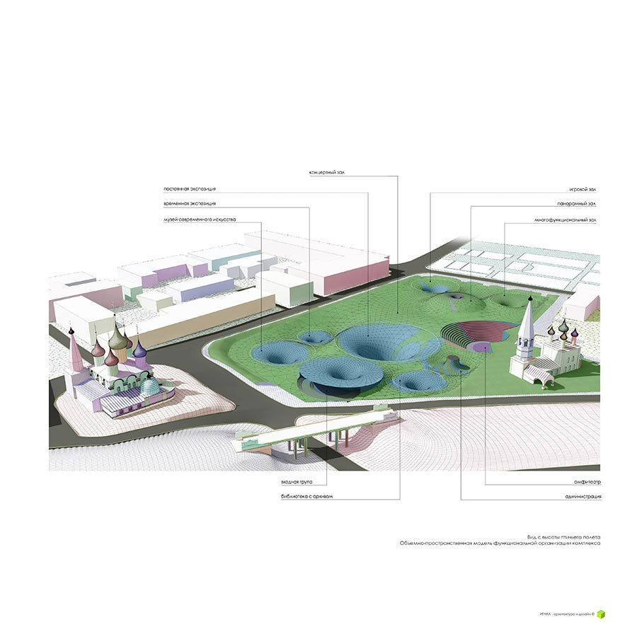 Ревитализация стадиона «Спартаковец» в историческом центре г. Ярославль / ИТАКА - Архитектура и дизайн / 2