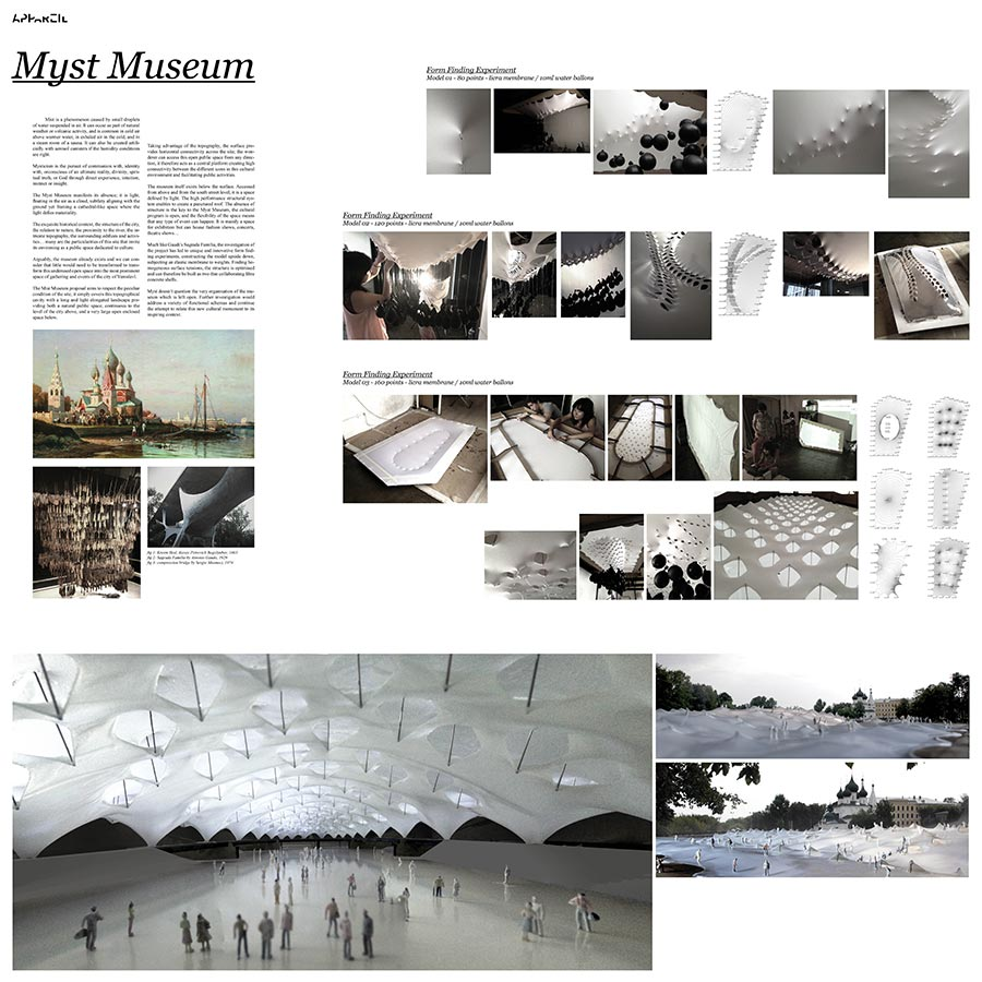 The Myst Museum / Appareil : Edouard Cabay, Jin Shihui, Davis Butner