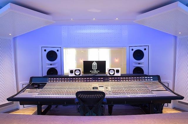 реконструкция студии звукозаписи легендарного Пола Эпворта