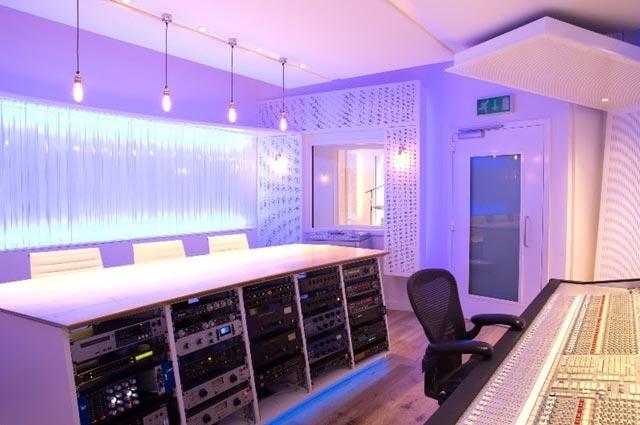 реконструкция студии звукозаписи Пола Эпворта