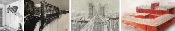 Международный конкурс архитектурного рисунка