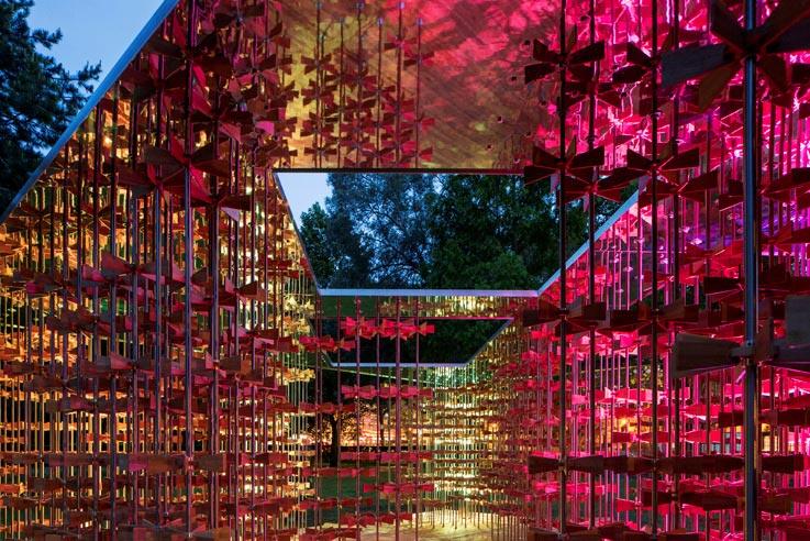 2016 Triumph Pavilion at the Museum Gardens