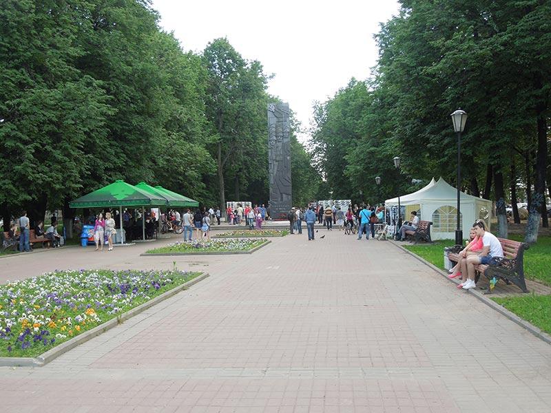 Бульвар Чайковского — открытие фестиваля