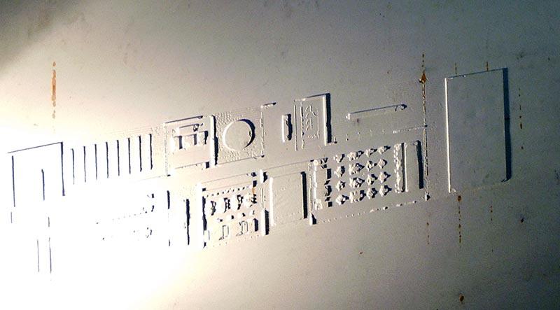 Экспозиция бюро Wall (фрагмент)