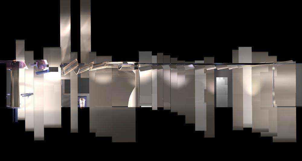 концепт стены коридора