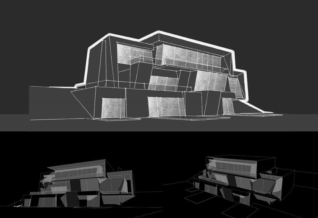 Parametric Residence, sketch #19
