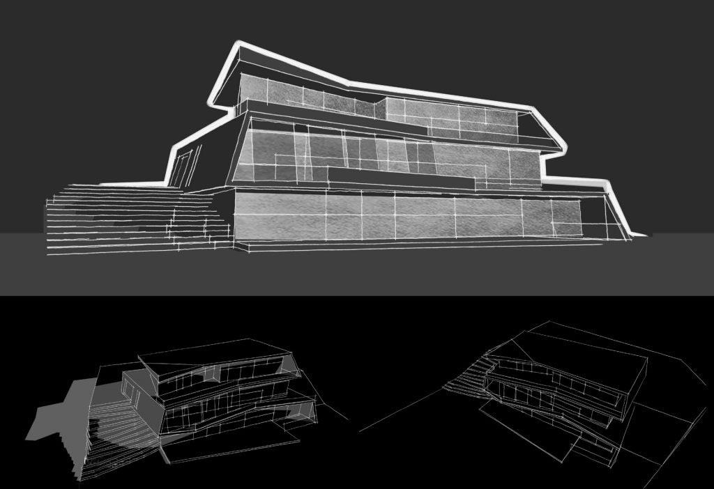 Parametric Residence, sketch #21