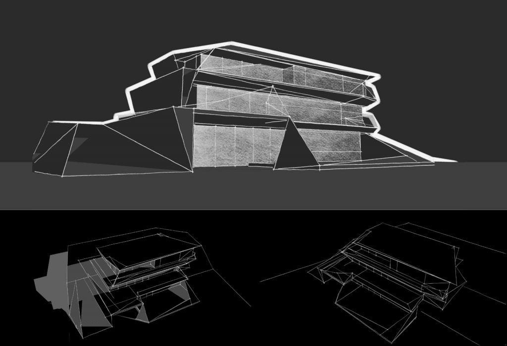 Parametric Residence, sketch #22