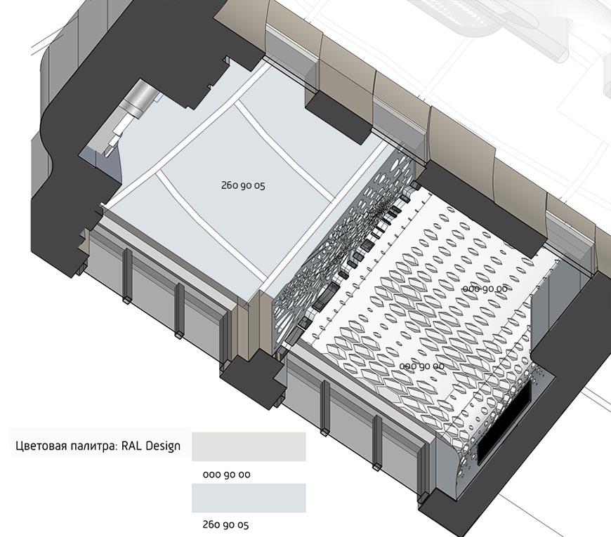 потолок гостевой спальни