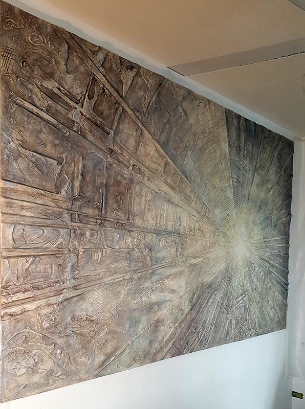 фото рельефной стены 2